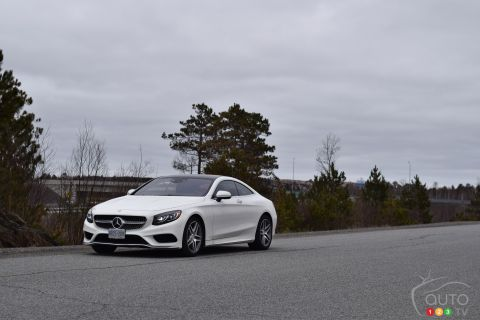 2015 Mercedes-Benz S 550 4MATIC Coupe pictures