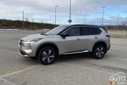 Nous conduisons le Nissan Rogue Platinum 2021
