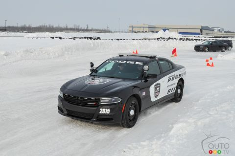 2015 Chrysler winter driving experience