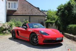 We drive the 2020 Porsche 718 Boxster T