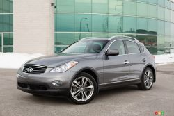 Its driving dynamics are surprising - By the looks of it, and given its popularity, the 2013 Infiniti EX turns out to be a default product in Nissan's luxury car lineup, and with good reason.