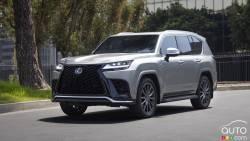 Introducing the 2022 Lexus LX 600