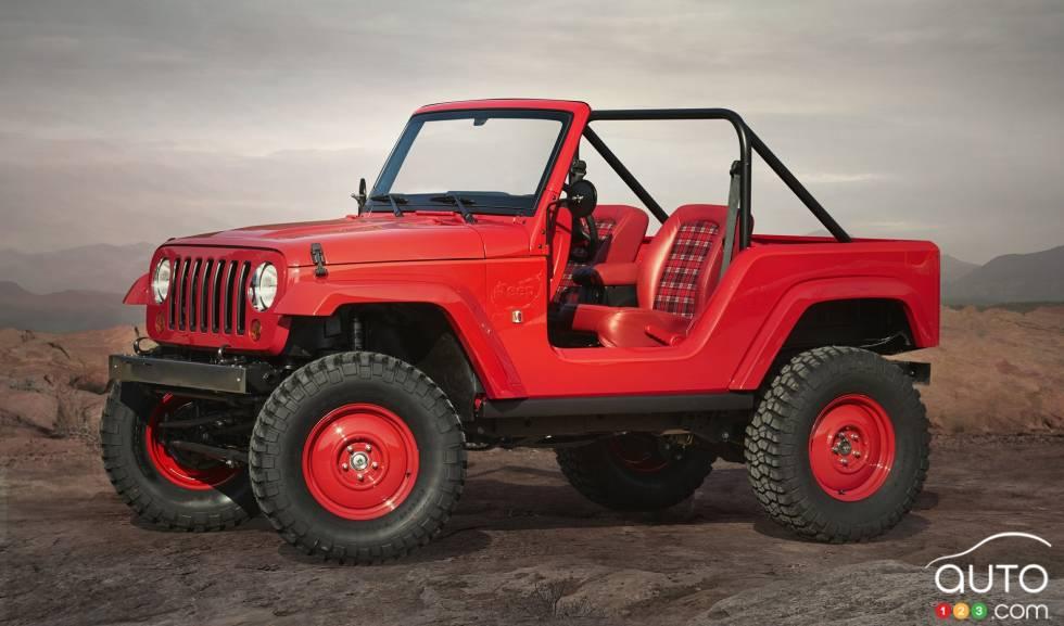 Jeep Shortcut Concept front 3/4 view