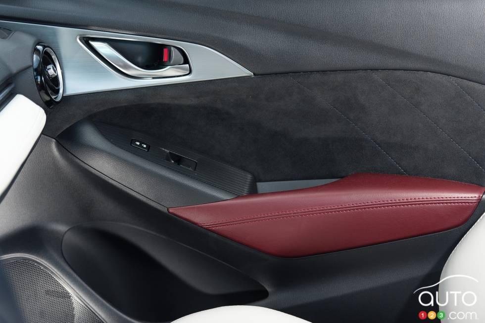 2016 Mazda CX-3 GT door panel
