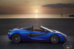 The all-new McLaren 570S Spider is the exotic British automaker's most attainable convertible yet.