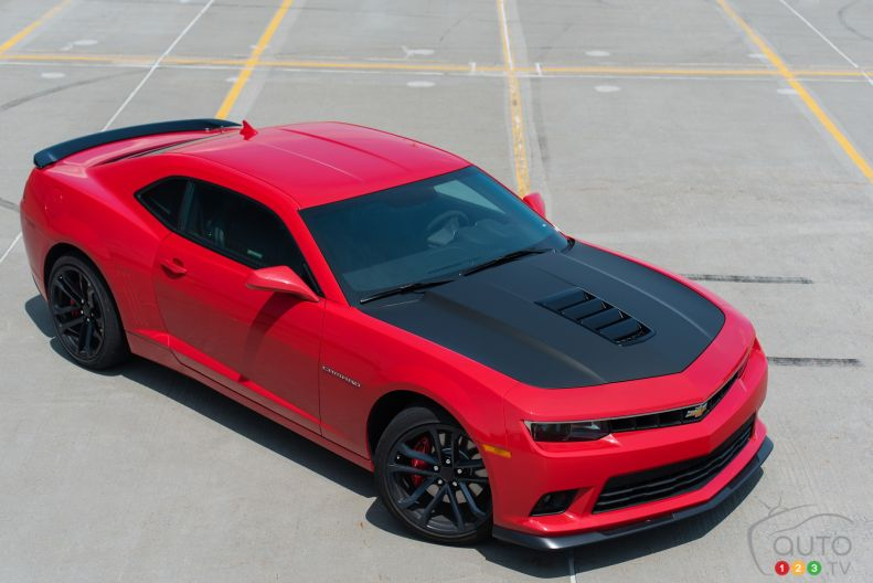 2015 Chevrolet Camaro Ss Coupe Pictures Auto123