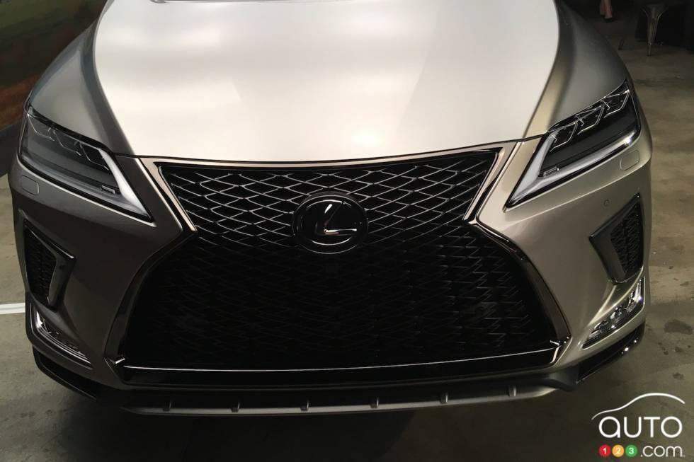 Voici le Lexus RX 2020