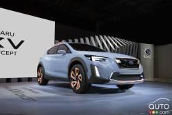 Photo gallery of the Subaru XV Concept.