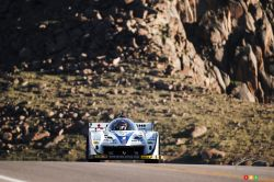 "Photos du Pikes Peak International Hill Climb 2013: Nobuhiro ""Monster"" Tajima - Electric - E-Runner Pikes Peak Special"