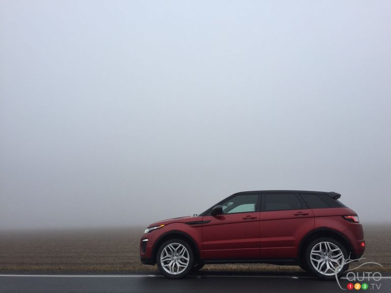 Photos deu Ranger Rover Evoque 2016