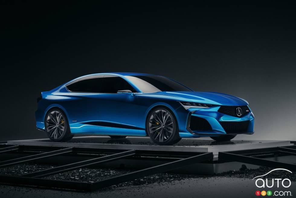 Voici l'Acura Type S Concept