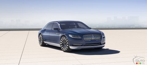 Lincoln Continental Concept pictures