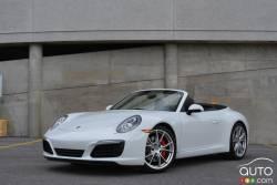 Here's the new 2017 Porsche 911 Carrera S cabriolet