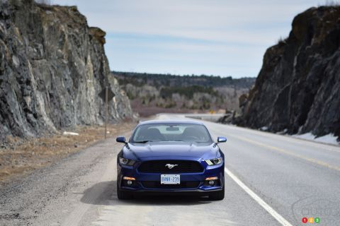 2015 Ford Mustang Ecoboost Fastback pictures