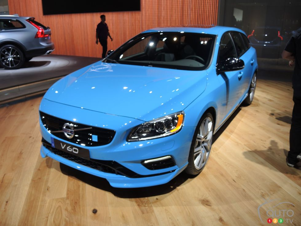 Discover some 2017 models !: 2017 Volvo V60 Polestar front 3/4 view