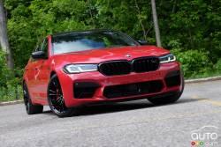 Nous conduisons la BMW M5 Competition 2021