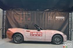 Mazda built over 1 Million Mazda Miata (MX-5) in it's history.