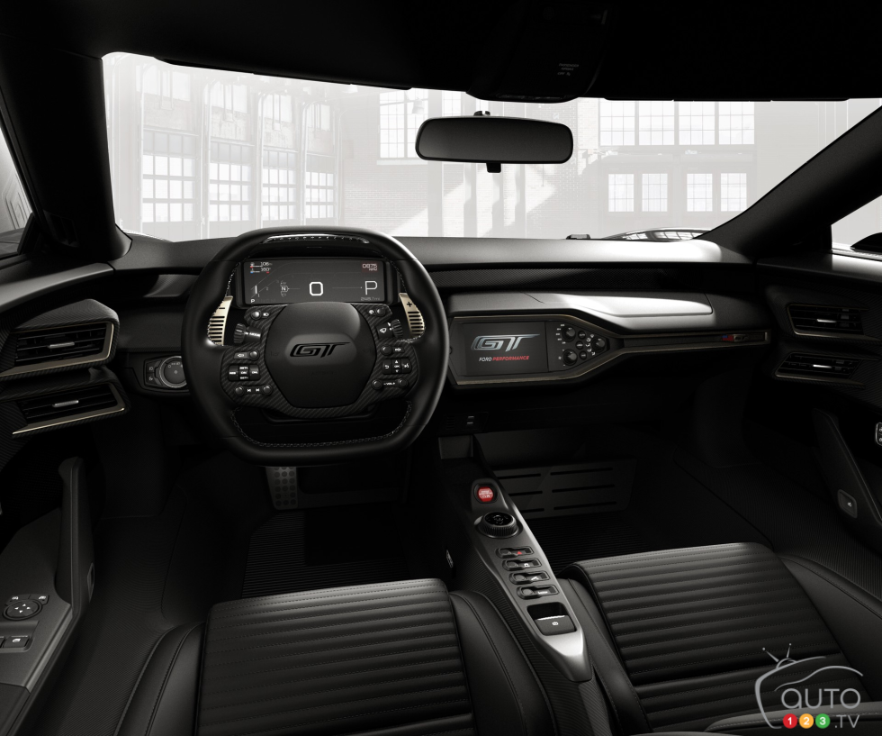 Ford Gt  Heritage Edition Dashboard