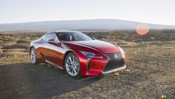 Introducing the 2021 Lexus LC 500 Coupe