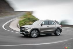 The new 2020 Mercedes-Benz GLE