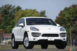 My kingdom for a diesel - The 2013 Porsche Cayenne Diesel does not disappoint in the area of torque with 406 lb-ft available, coupled with 240 hp.  This chunky Porsche SUV (which some people still have a hard time accepting) makes it to 100 km/h in just under 8 seconds.