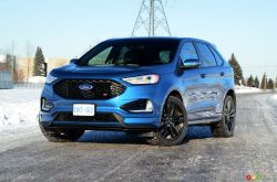 We test drive the 2019 Ford Edge ST