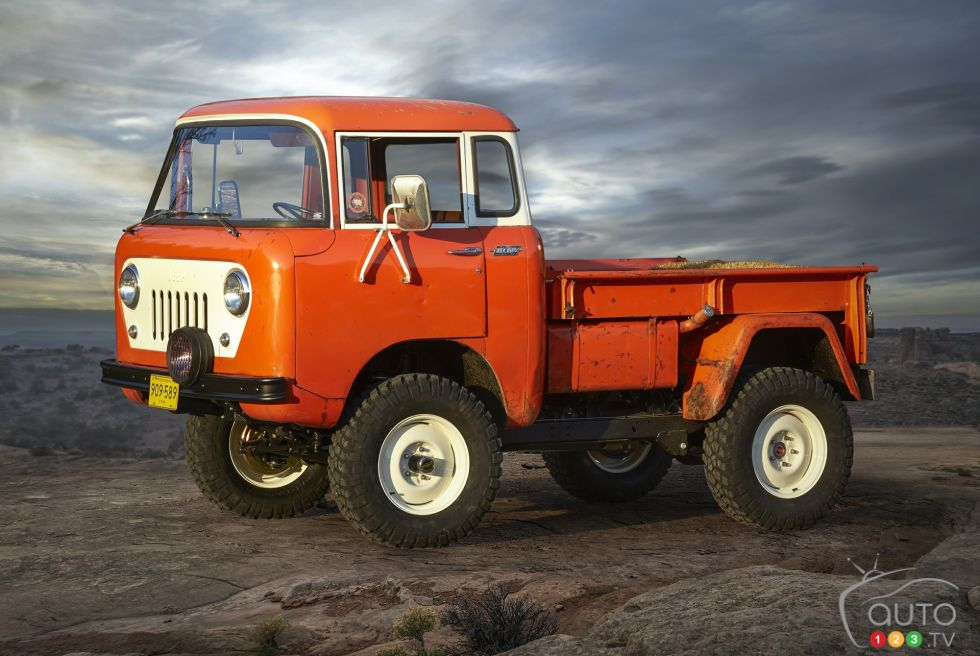 Jeep FC 150 Heritage Vehicle front 3/4 view
