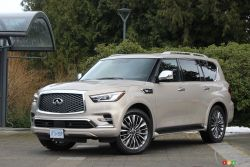 We drive the 2021 Infiniti QX80