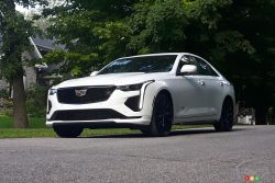 Nous conduisons la Cadillac CT4-V 2020