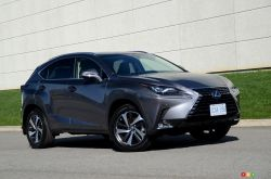 The Lexus NX 300:an excellent product that has been upgraded for 2018