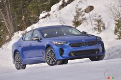 We test-drive the 2019 Kia Stinger GT-Line