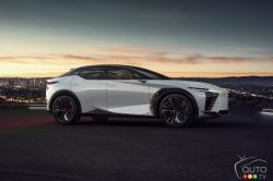 Introducing the Lexus LF-Z Electrified concept