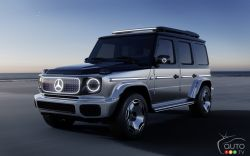 Introducing the Mercedes-Benz EQG Concept