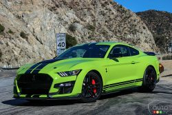 Nous conduisons la Ford Mustang Shelby GT500 2020
