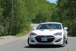 Leaving competitors even farther in the dust! - The Genesis Coupe offers up a stable, locked-down and dense feel somewhere between sporty Japanese precision and muscular American heaviness. Maybe slightly towards the latter.