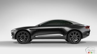 Aston Martin Concept DBX pictures