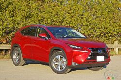 The new Lexus NX 300h feels more luxurious and comes hybrid power.