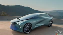 Voici le prototype Lexus LF-30 Electrified