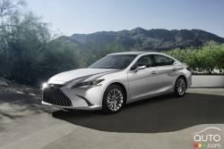 Voici la Lexus ES 2022