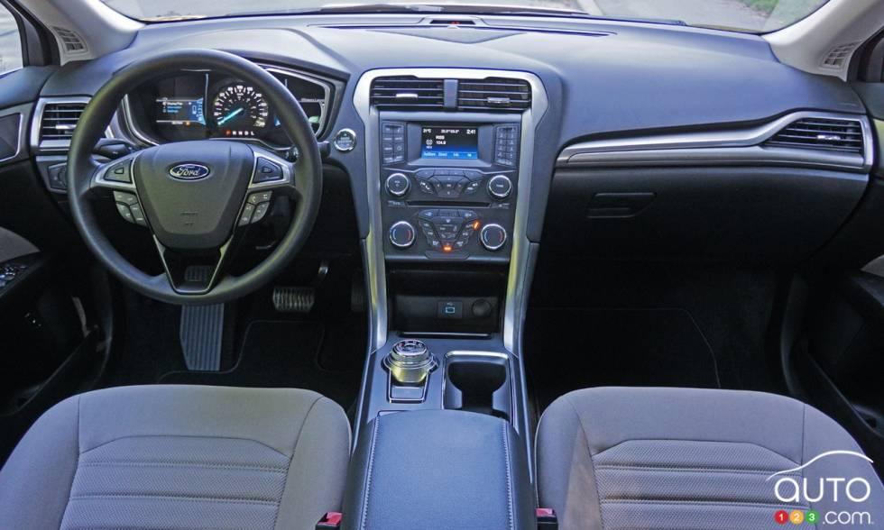 2017 Ford Fusion Hybrid Dashboard