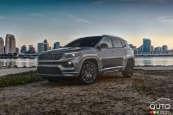 Voici le Jeep Compass 2022