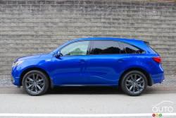 Nous conduisons l'Acura MDX A-Spec 2019
