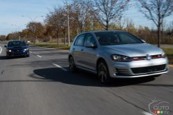 2016 Subaru WRX Sport-tech vs 2016 Volkswagen Golf GTI PP: Matt and Miranda go head-to-head in this turbocharged versus in which the Subaru WRX takes on the Volkswagen GTI. Who came out victorious?