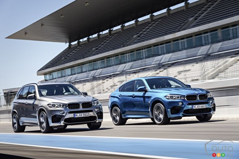 2015 BMW X5 M and X6M pictures