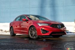 We test drive the new 2019 Acura ILX