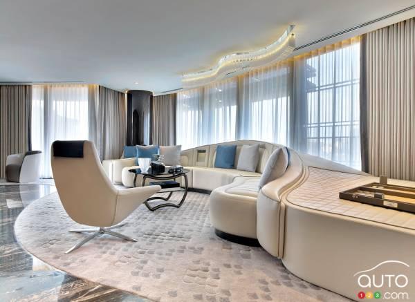 Photos de la suite Bentley à l\'hôtel St-Regis à Istanbul ...