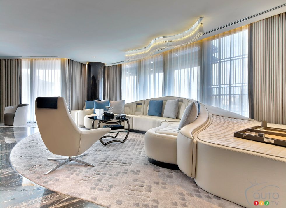 Photos de la suite Bentley à l\'hôtel St-Regis à Istanbul, Turquie ...