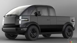 Introducing the Canoo electric pickup concept