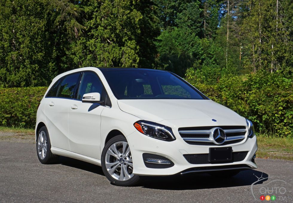 2016 Mercedes Benz B250 4matic Pictures
