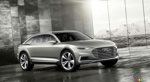 Audi prologue allroad pictures
